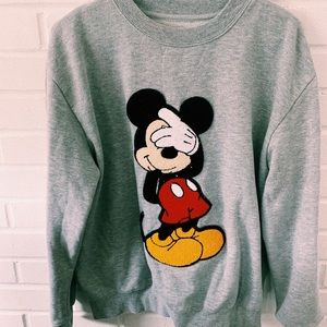 Embroidered patch, Mickey Mouse Sweatshirt